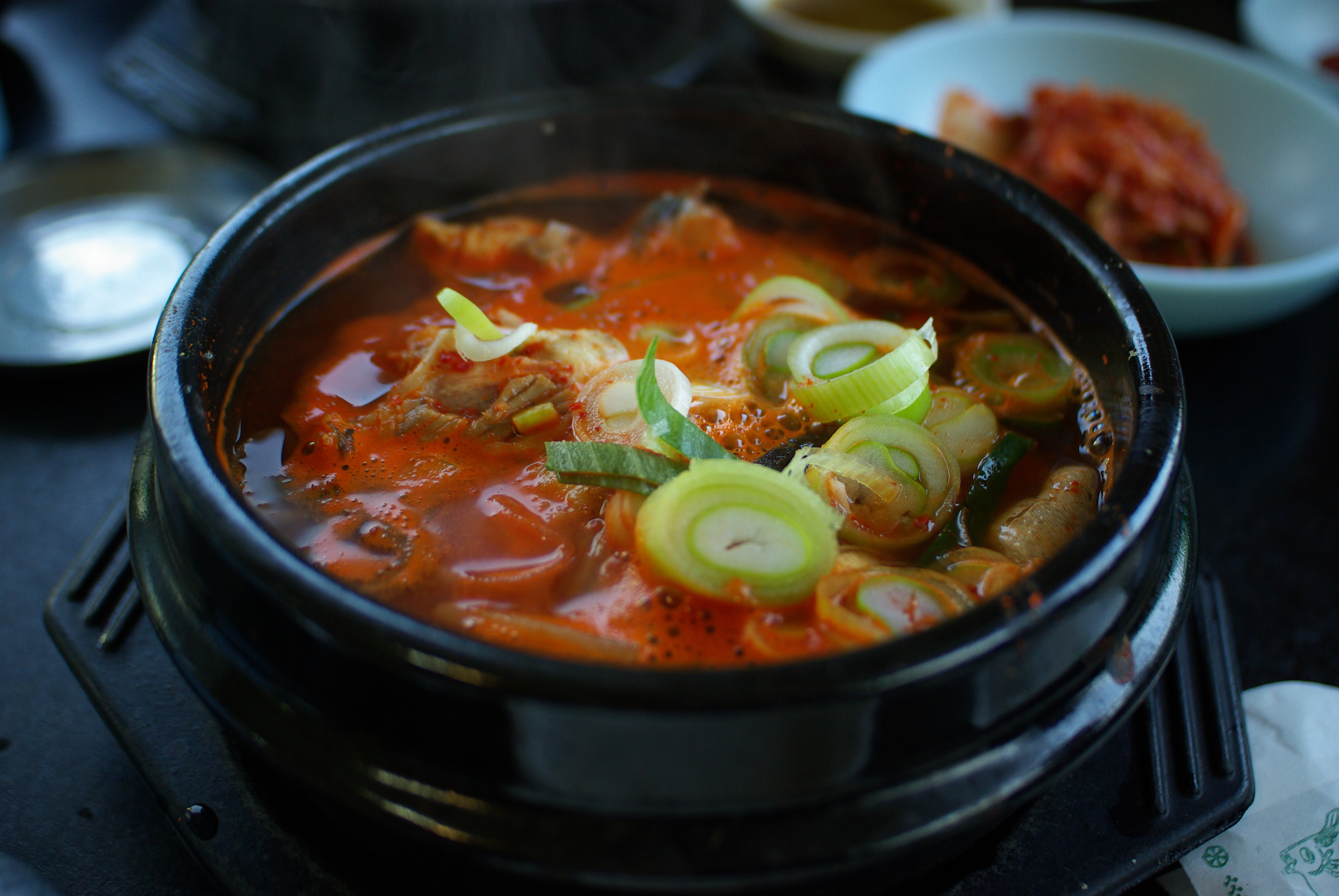 Korean bowl of soup