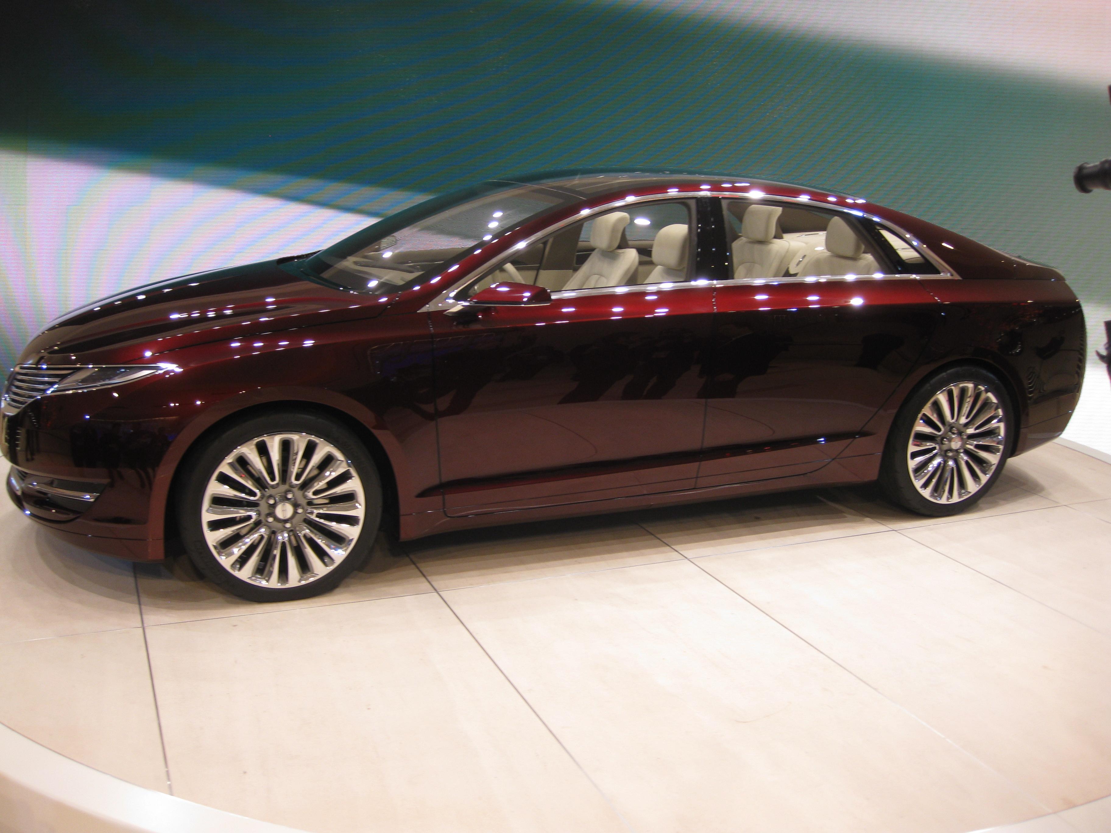 File Lincoln Mkz Concept At Naias 2017 6679778469 Jpg