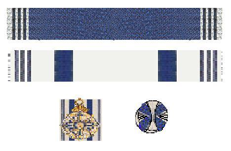 File:Linten van de Maximiliansorden 1918 en 1980.jpg
