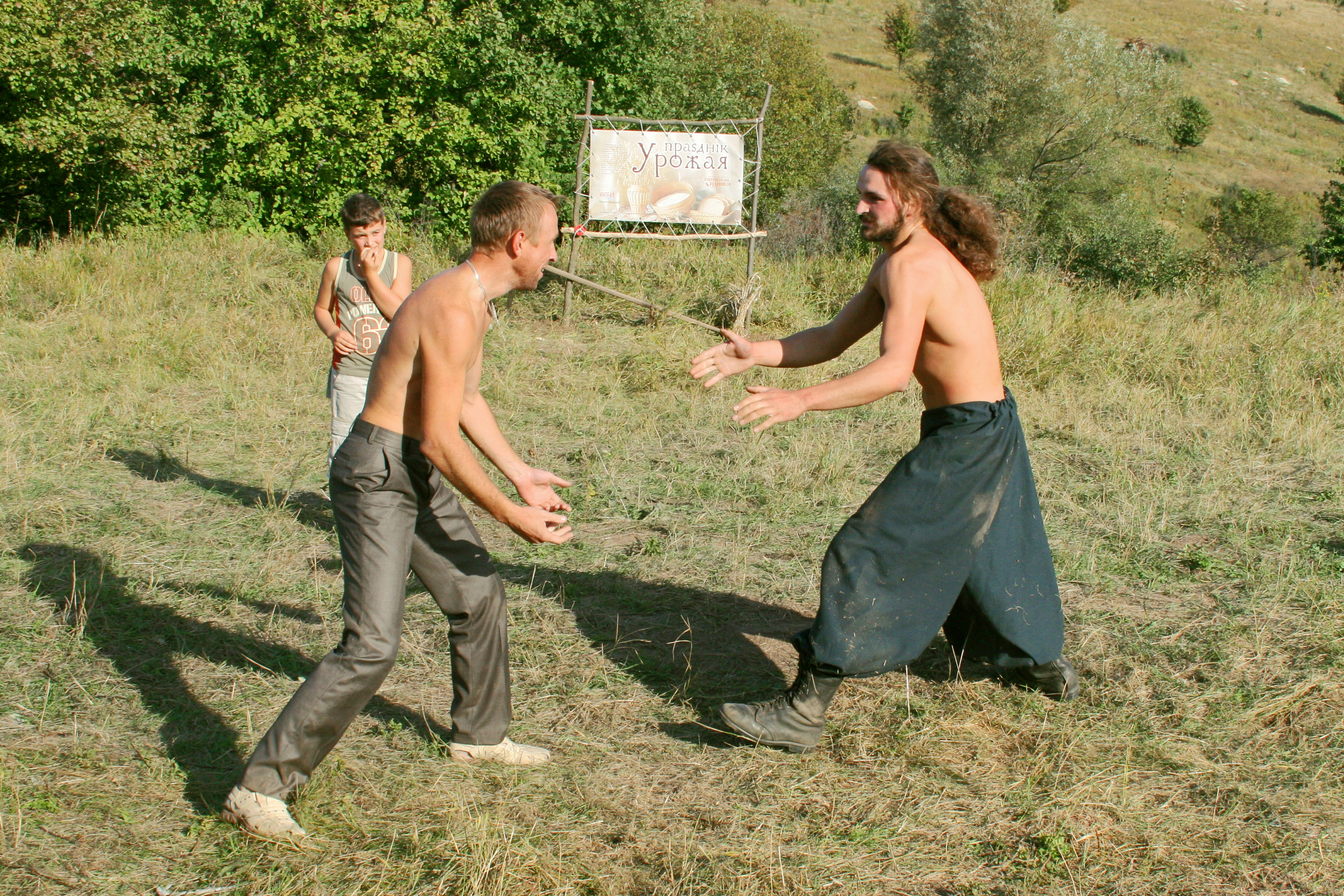 Russian fist fighting