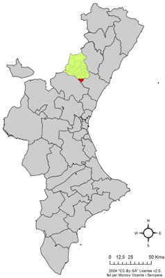 Vị trí của Villamalur