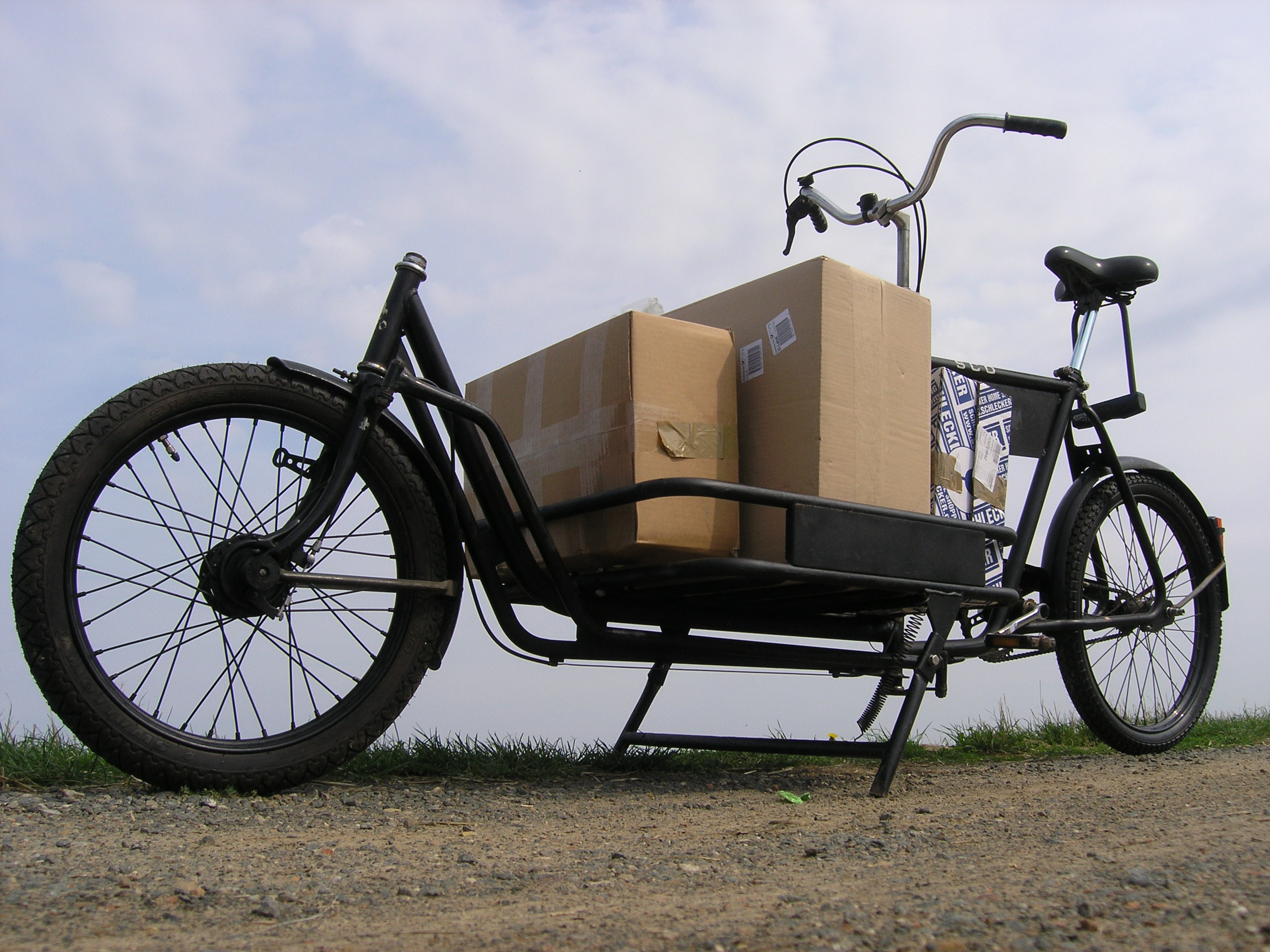 Bikes For Heavy People Over 500 Lbs A heavy duty freight bicycle
