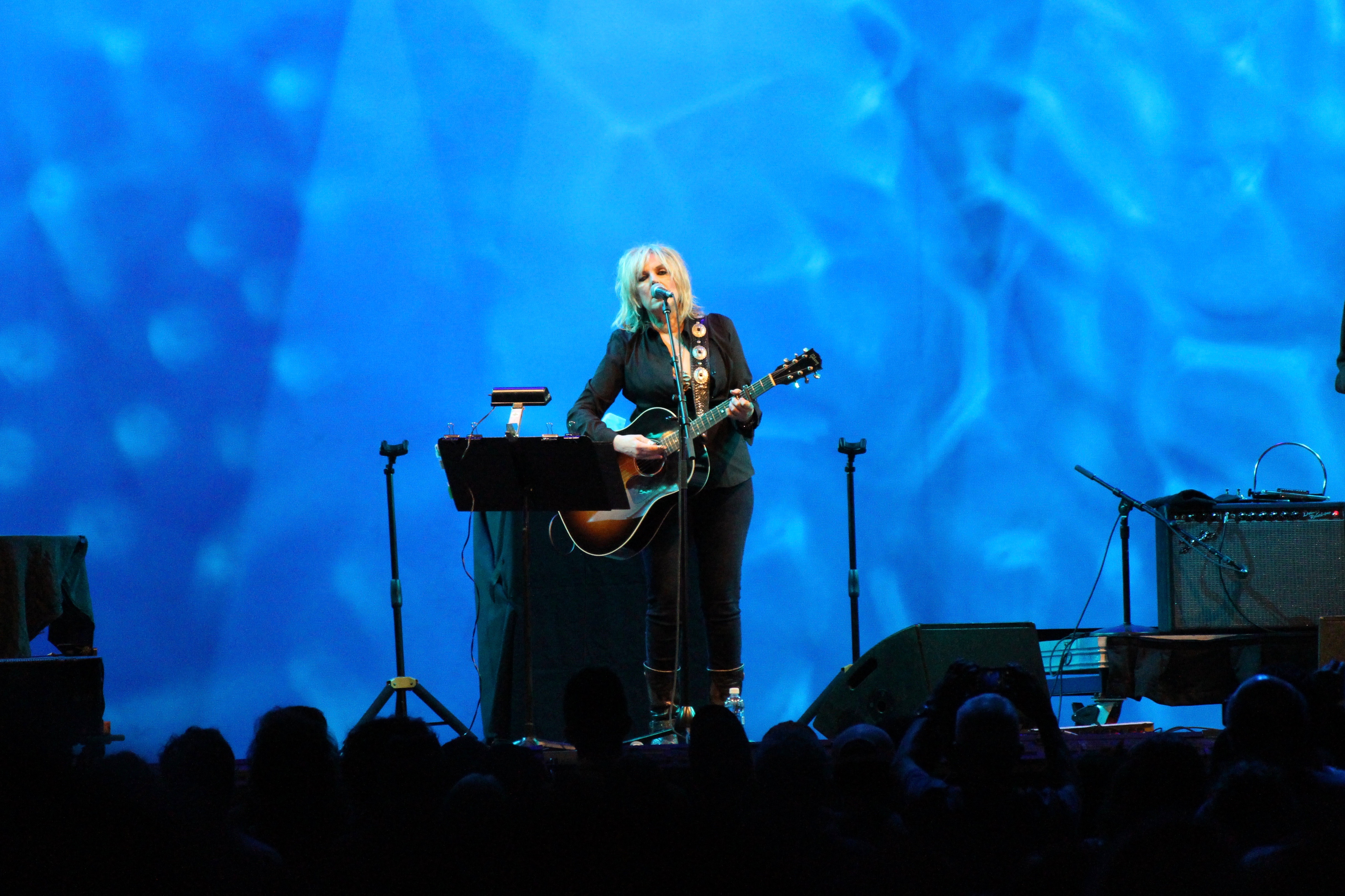 FileLucinda Williams at a Lincoln Center Out Of Doors concert in New York City & File:Lucinda Williams at a Lincoln Center Out Of Doors concert in ...