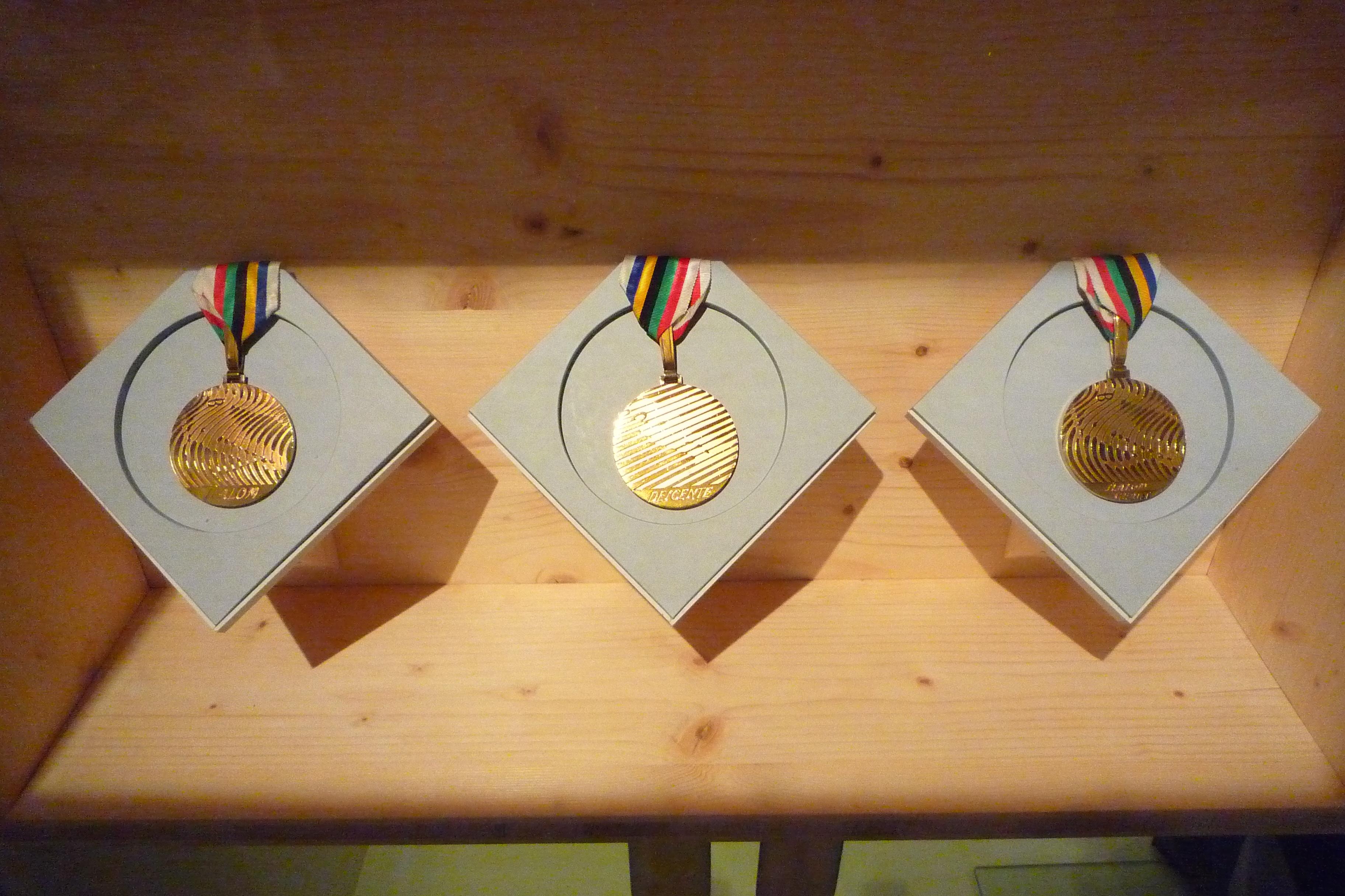 ceremonie medaille oslo