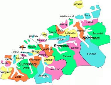 stranda kommune kart Møre og Romsdal – Wikipédia stranda kommune kart