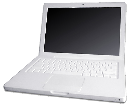 File:MacBook white transparency.png - Wikimedia Commons