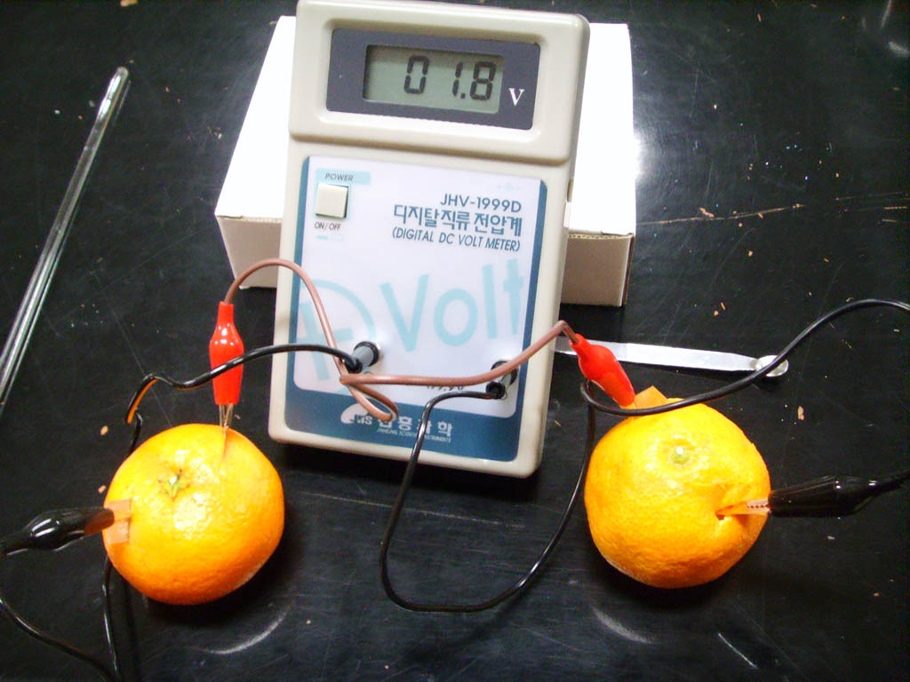 how to make an orange battery