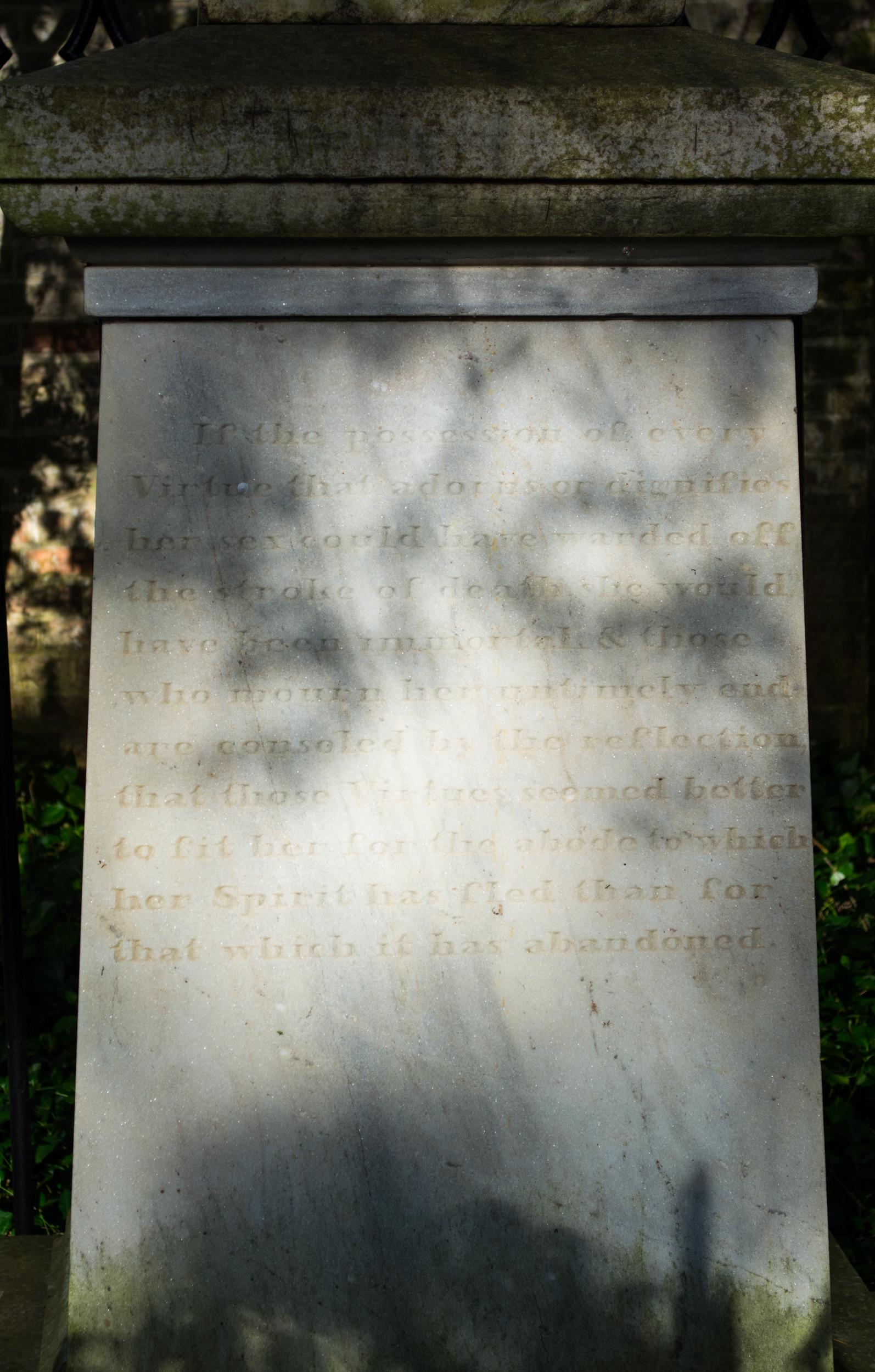 Angela Lewis Wikipedia file:mary eliza angela lewis conrad grave - side - mount