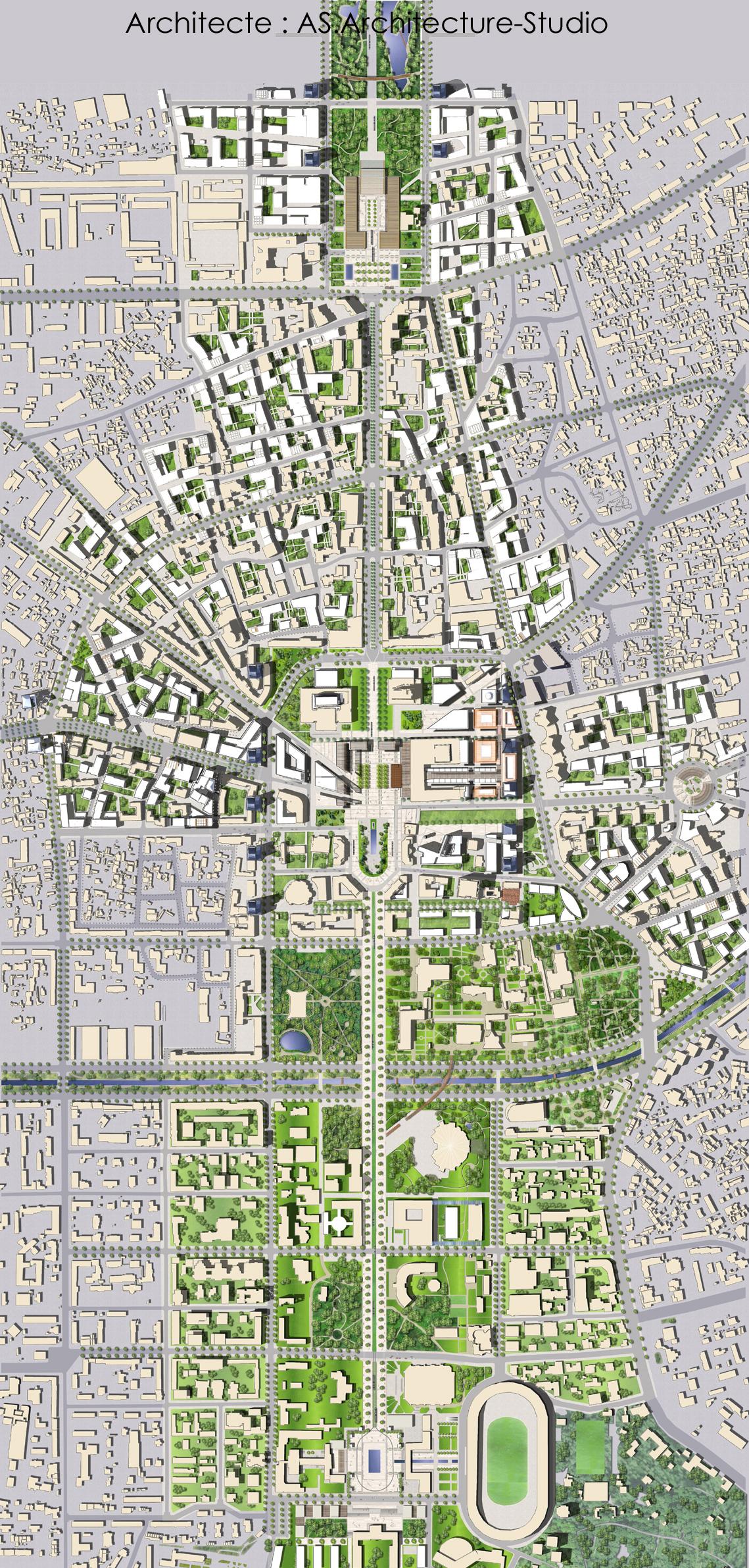 File:Master plan du Centre ville de Tirana, Albanie, par AS
