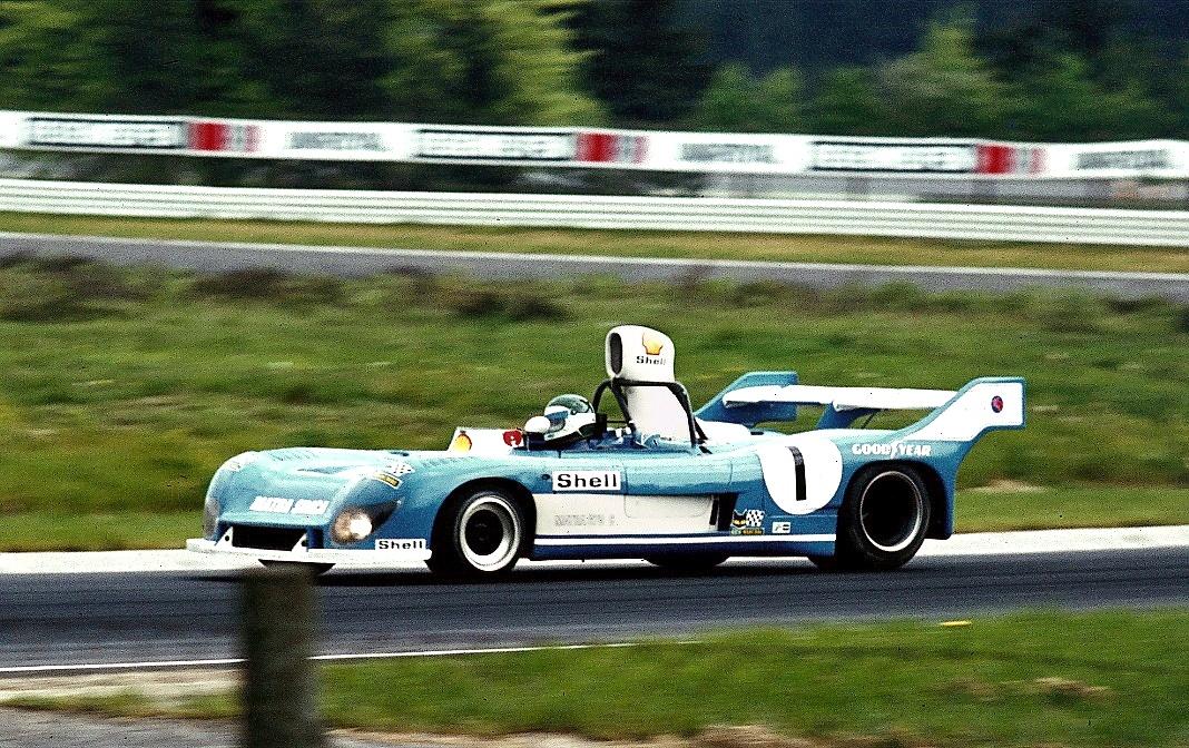 Jean-Pierre Jarier 1974 im Matra-Simca, Sieger zusammen mit Jean-Pierre Beltoise