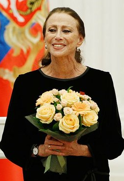 English: Maya Plisetskaya in 2011