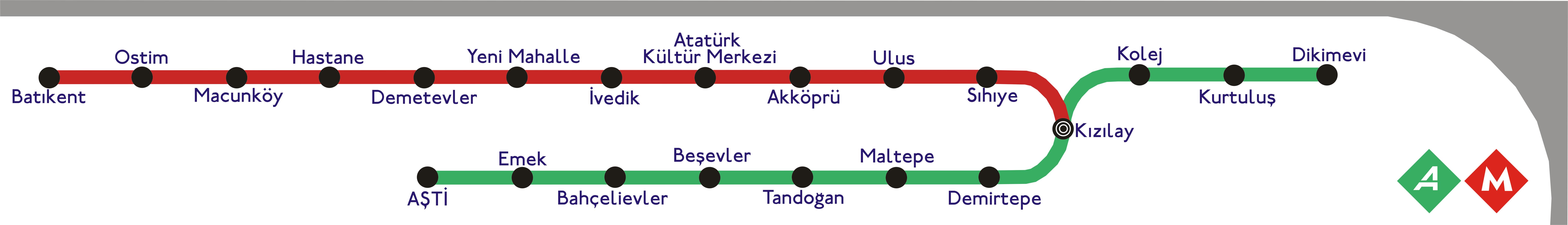 FileMetro Map Ankara 1png Wikimedia Commons
