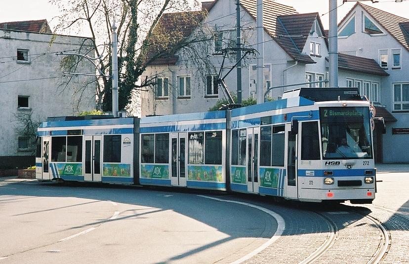Streetcar in Eppelheim