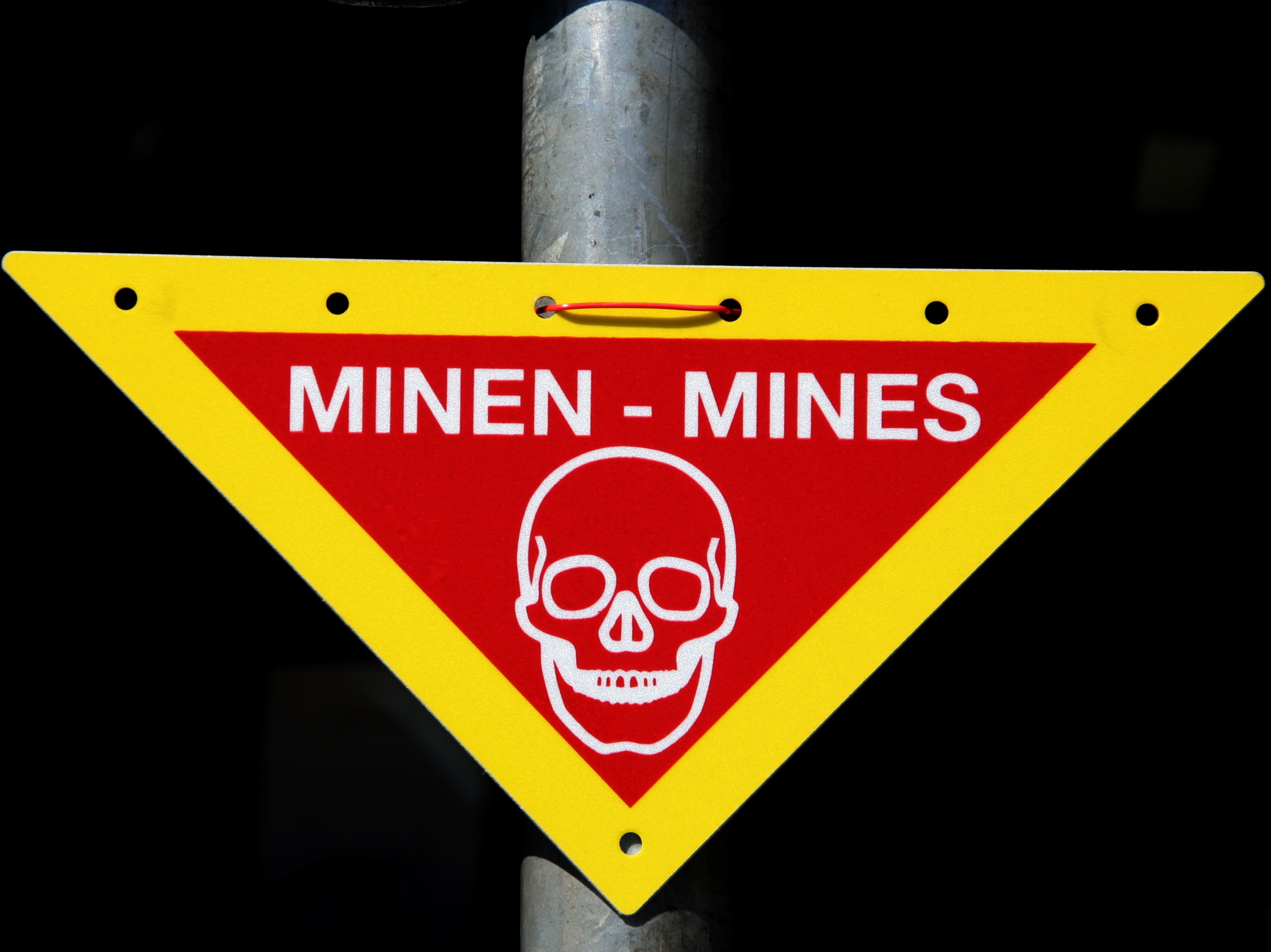 Mine Warning