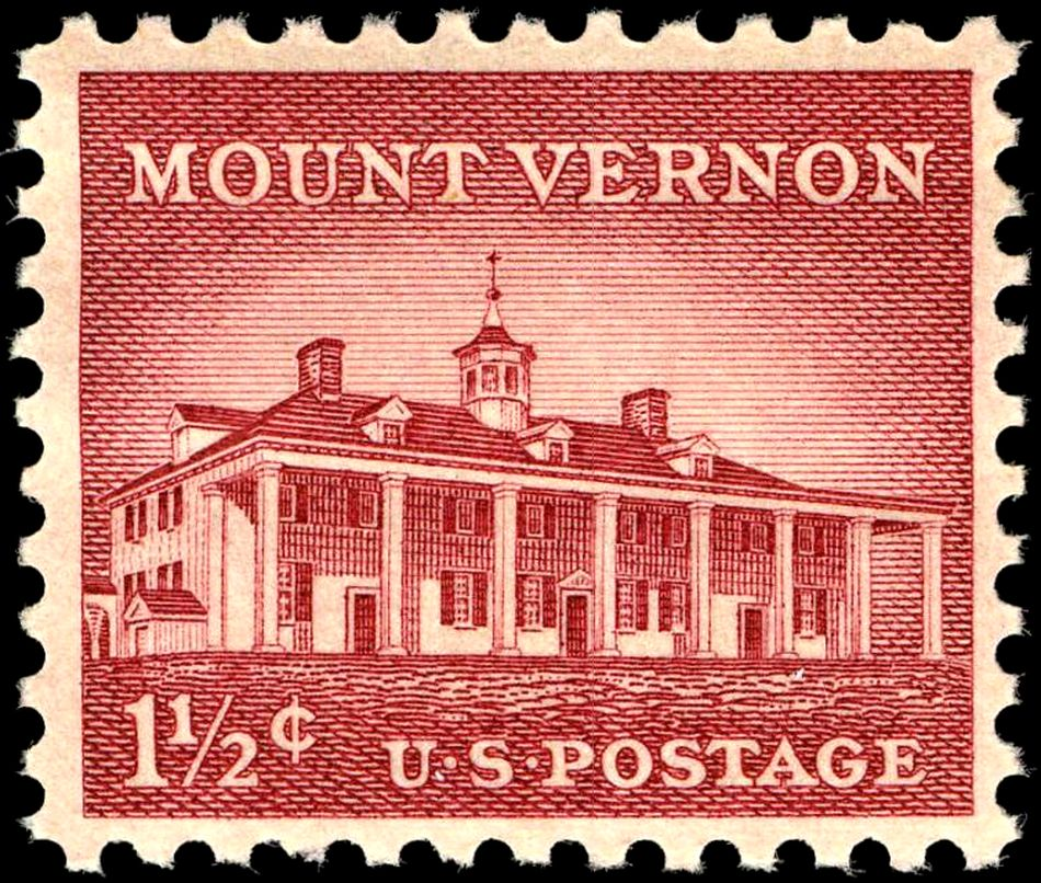 FileMount Vernon 1956 Issue 1 Half Cent