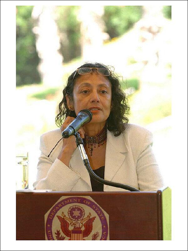 Speaking at the US Ambassador's residence in [[Israel]], June 11, 2004