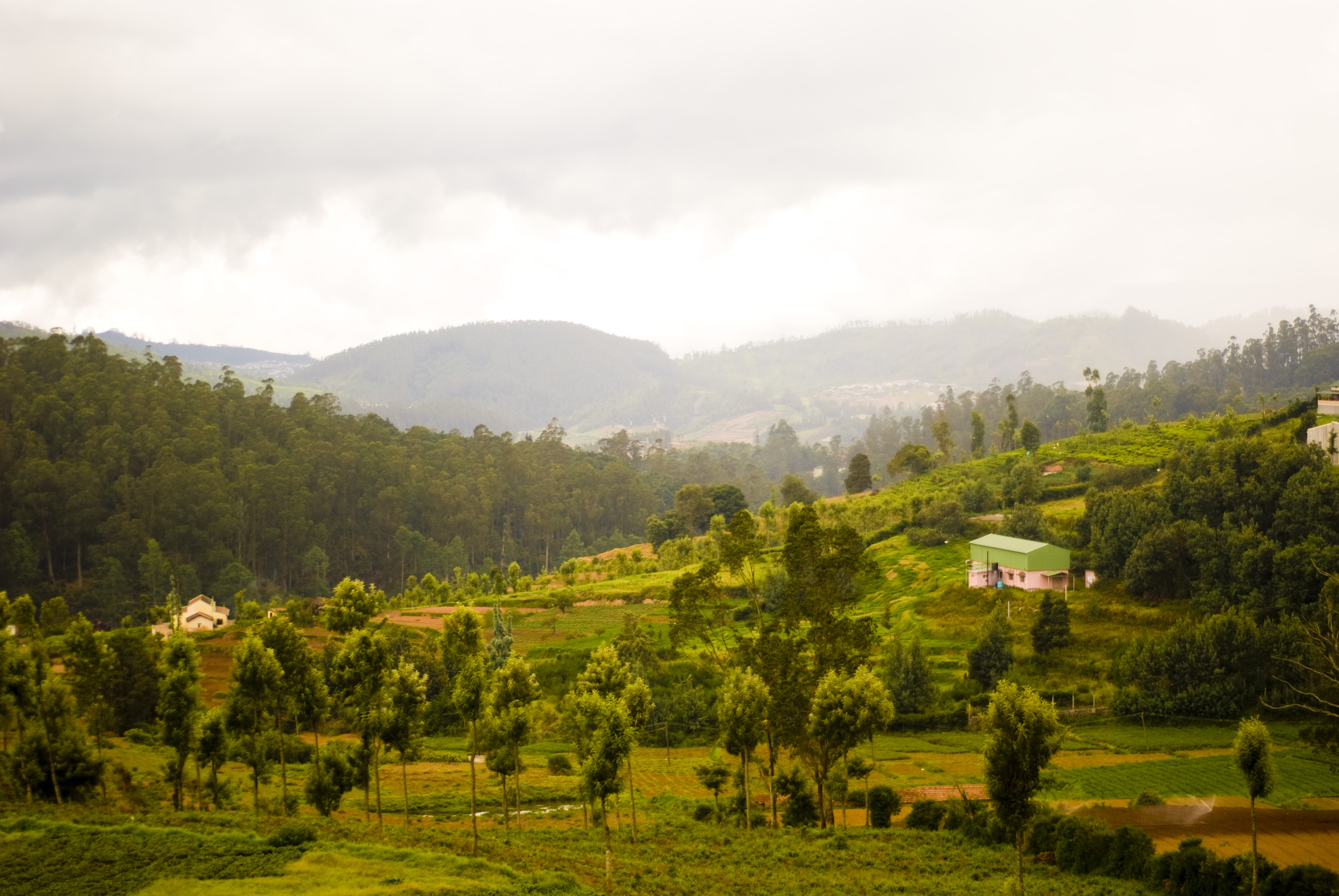 Landscape view of Ranipuram