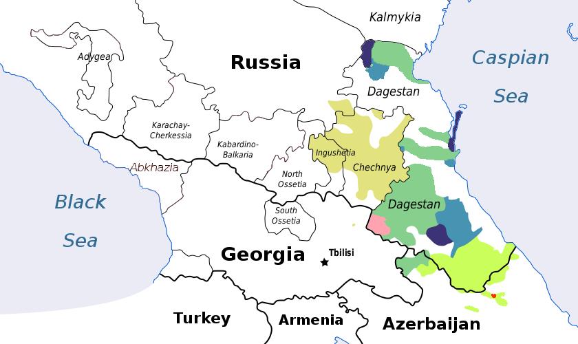 コーカサス諸語 - Languages of the Caucasus