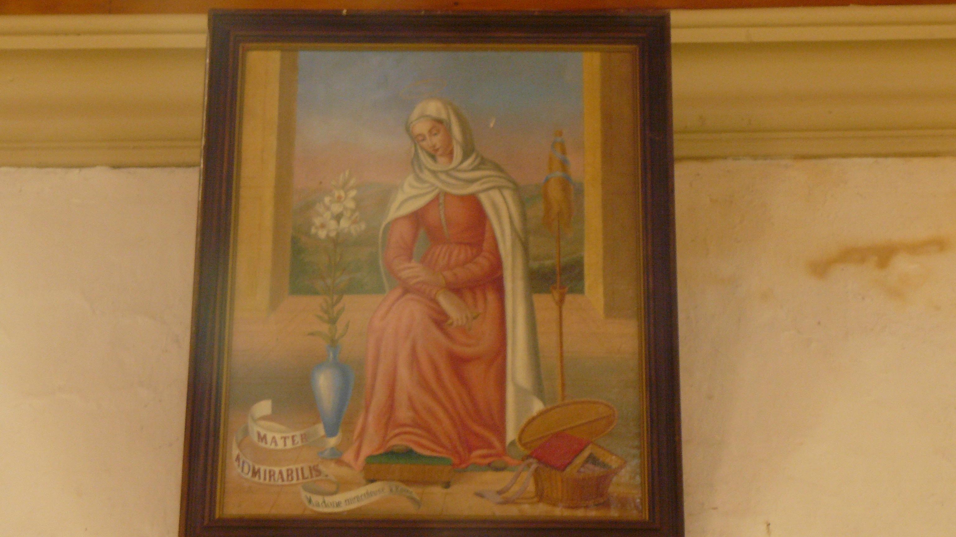 Filenotre Dame De Placemanec à Groix Tableau De La Vierge