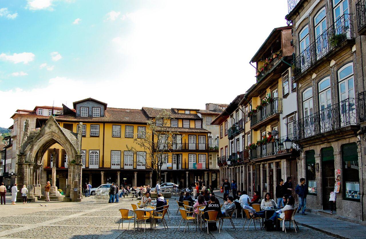 Guimaraes Portugal  City new picture : VILLE GUIMARAES le jardin du portugal