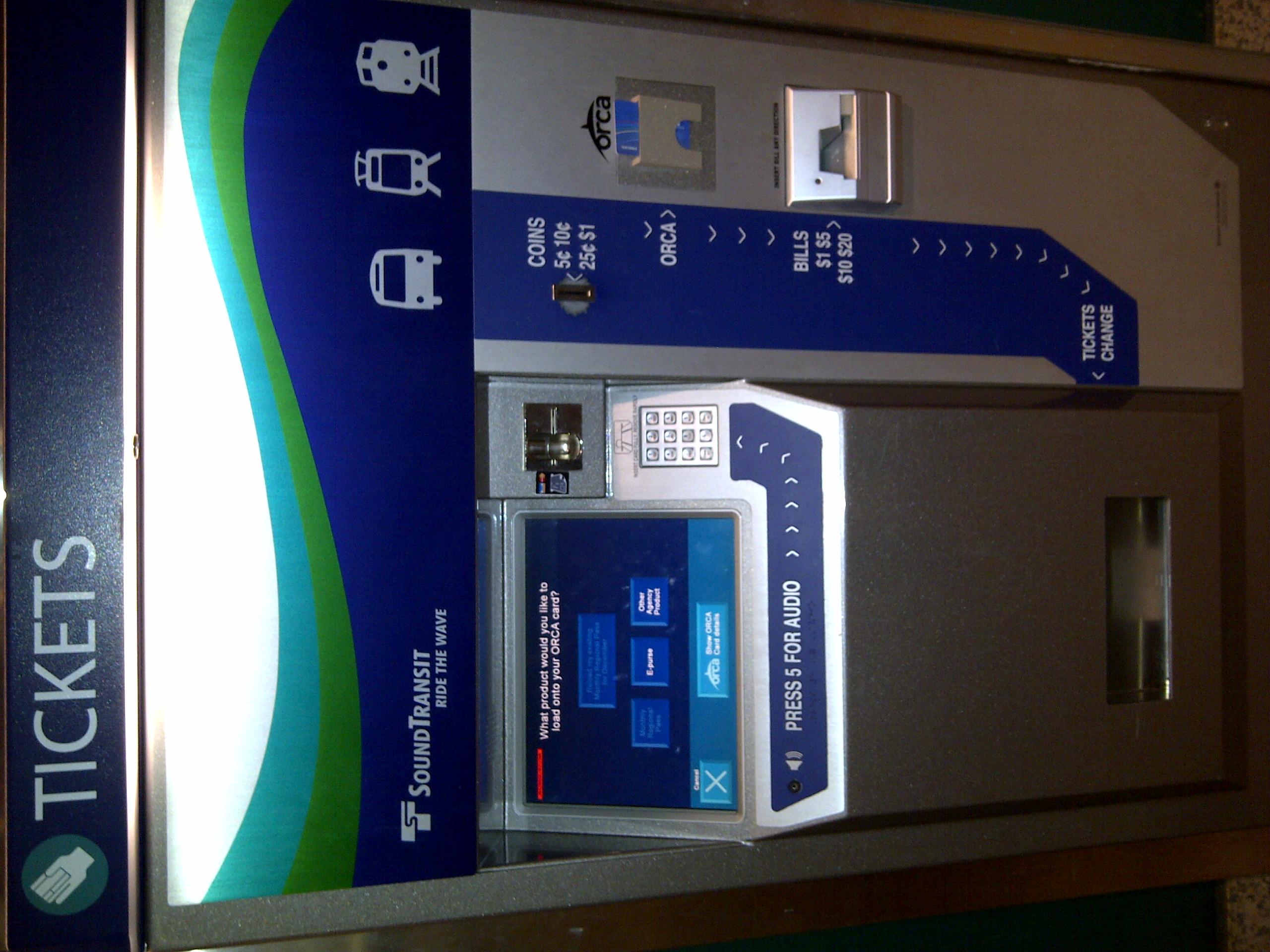 File:Orca Card Fare Vending Machine jpg - Wikimedia Commons