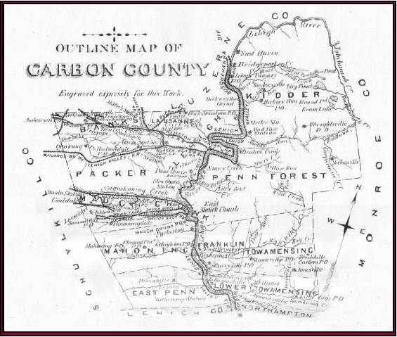 FileOutline Map Of Historical Carbon Countyjpg Wikimedia Commons - Historical outline map