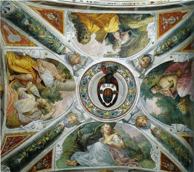 File pablo de c spedes decorazione della volta 1570 c for Decorazione wikipedia