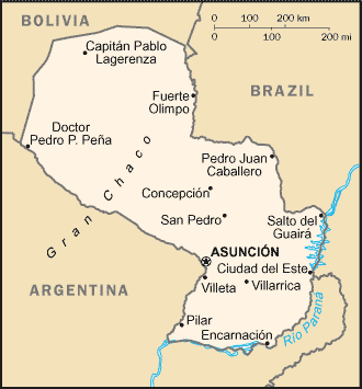 Paraguay-CIA WFB Map (2004).png
