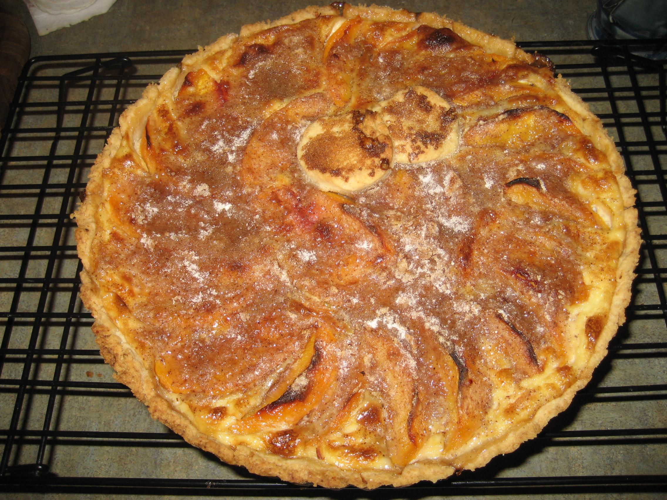 File:Peach custard pie (1416028394).jpg - Wikipedia, the free ...
