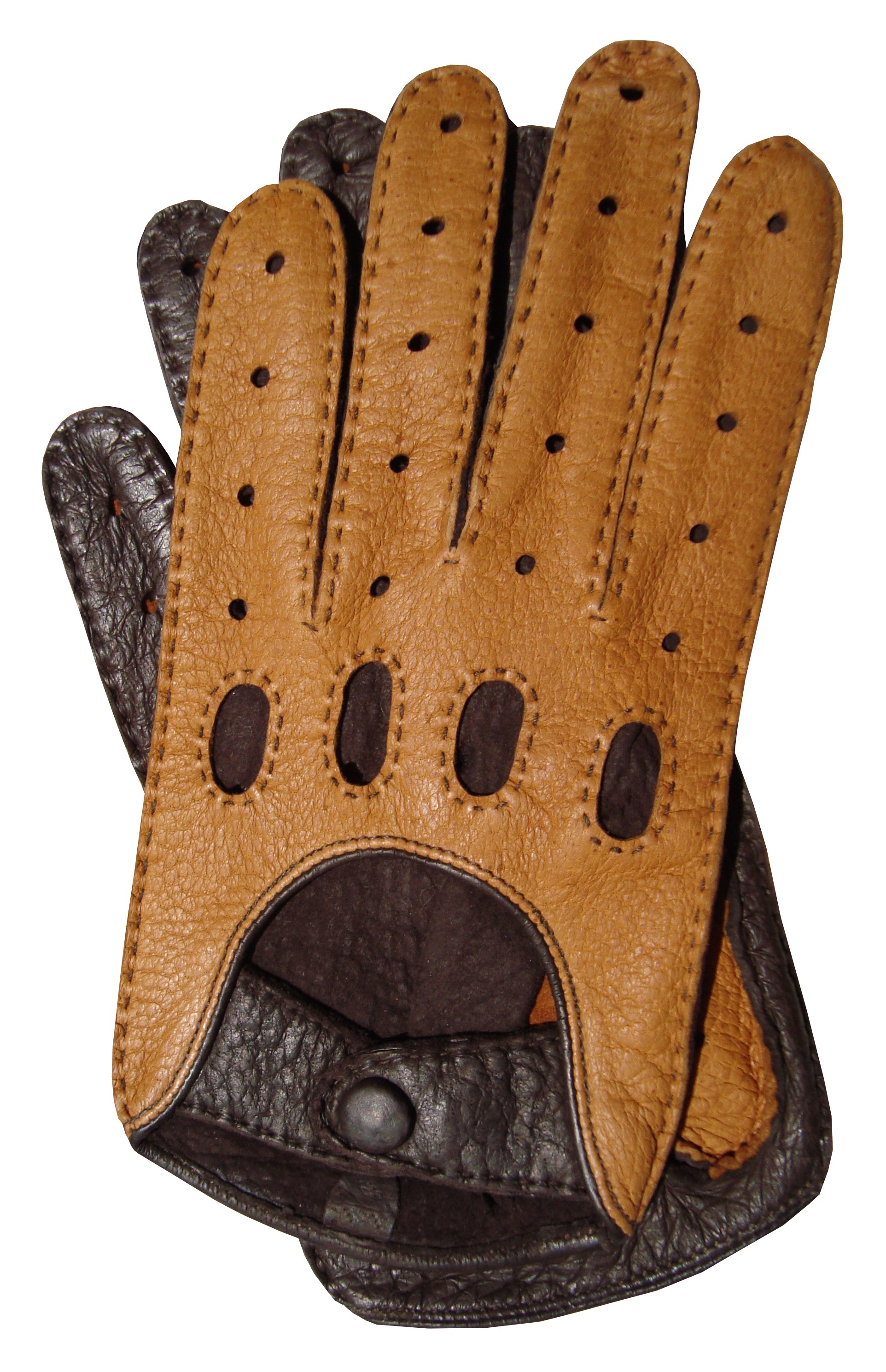Leather driving gloves from drive - File Peccary Driving Glove Jpg