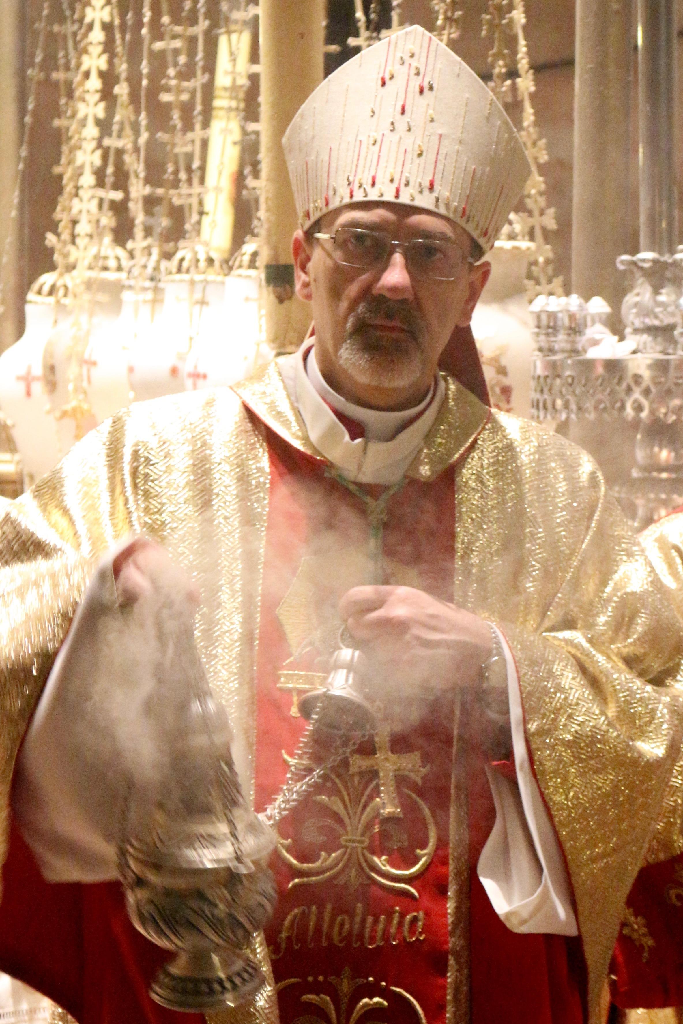 Bethlehem: Erzbischof kritisiert bei Mette Trump – religion.ORF.at
