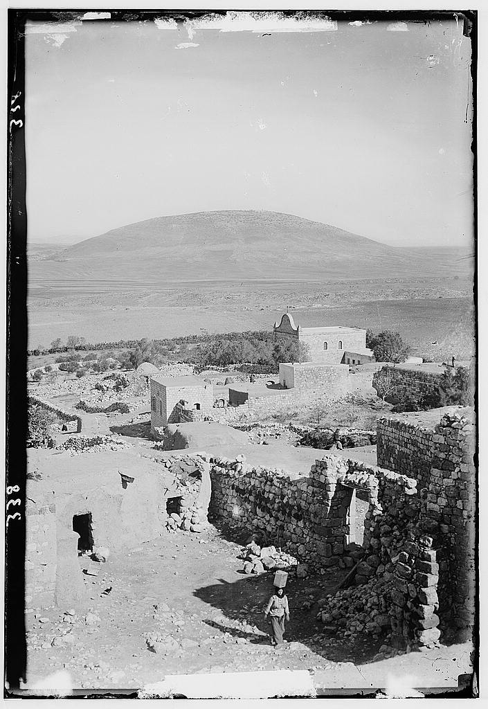 הר תבור והכפר ניין (נעים