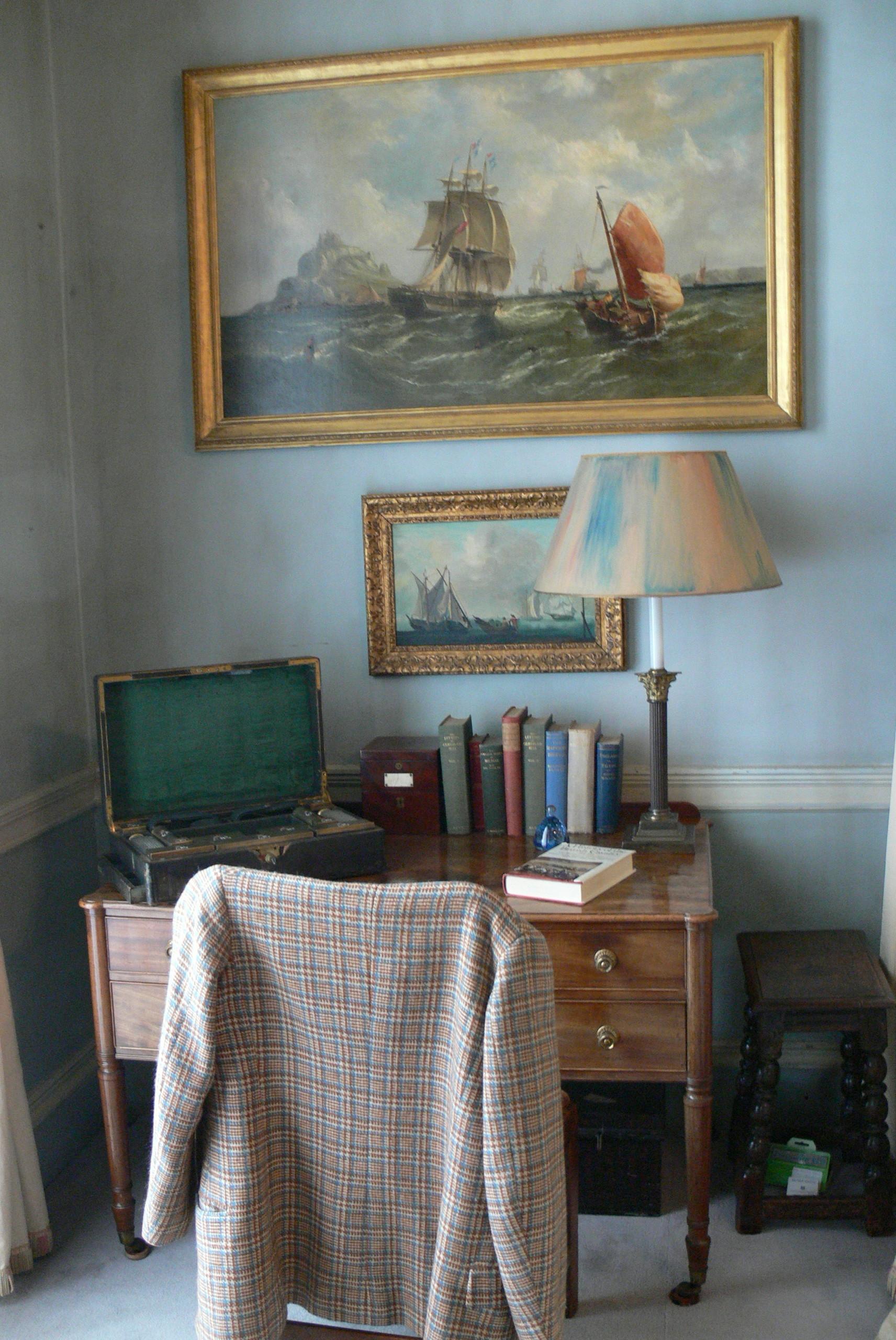 Kinderschreibtisch design  File:Plas Newydd (Anglesey) - Schlafzimmer Lord 1 Schreibtisch.jpg ...