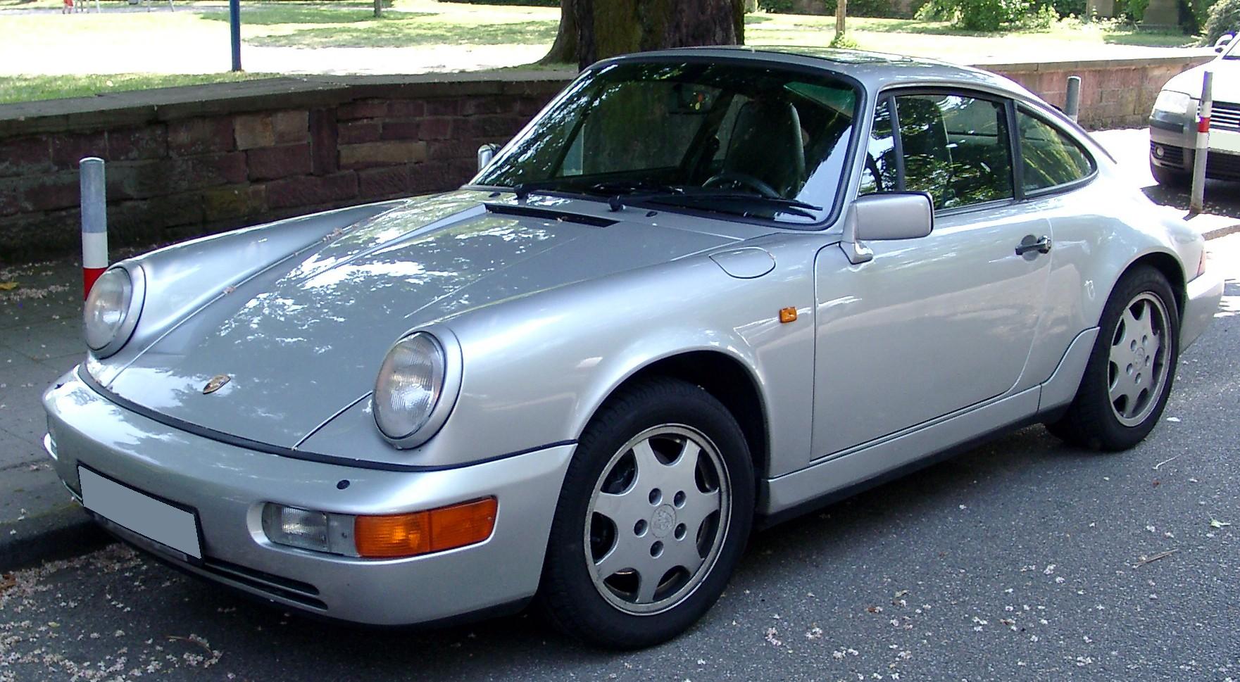 Renfred Freudenburg Porsche 964 Wikicars