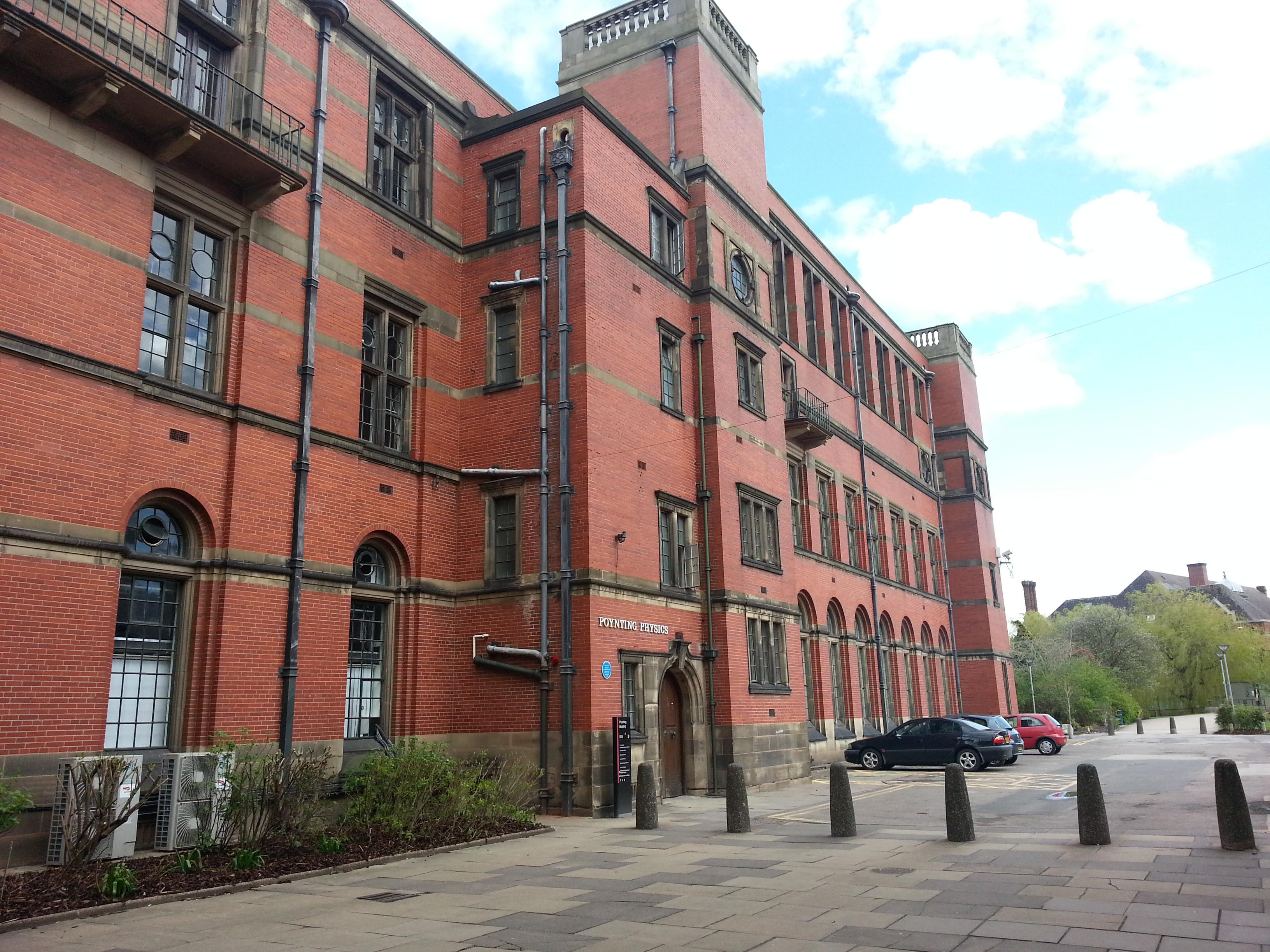 Poynting Building University Of Birmingham