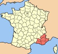 Lesson 5: Provence Provence-Alpes-Côte_d'Azur_map
