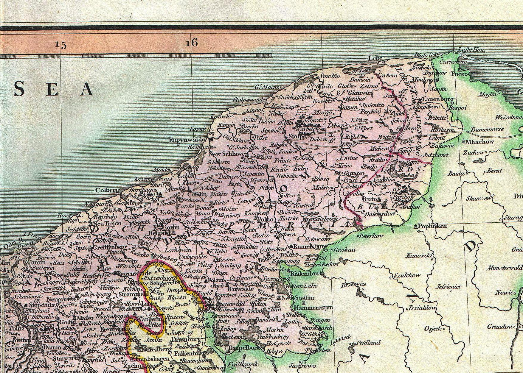 Pommern Germany Map.Farther Pomerania Wikiwand