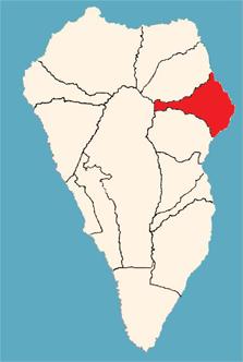 Mapa De La Palma Por Municipios.Puntallana Wikipedia La Enciclopedia Libre
