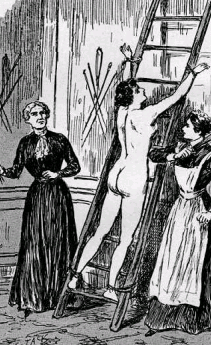 Belt spanking slut