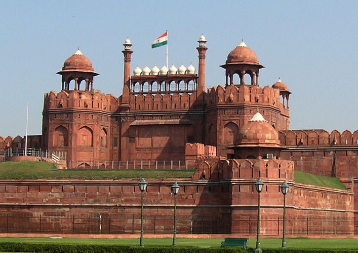 Who Built Red Fort in Delhi File:red Fort Delhi by