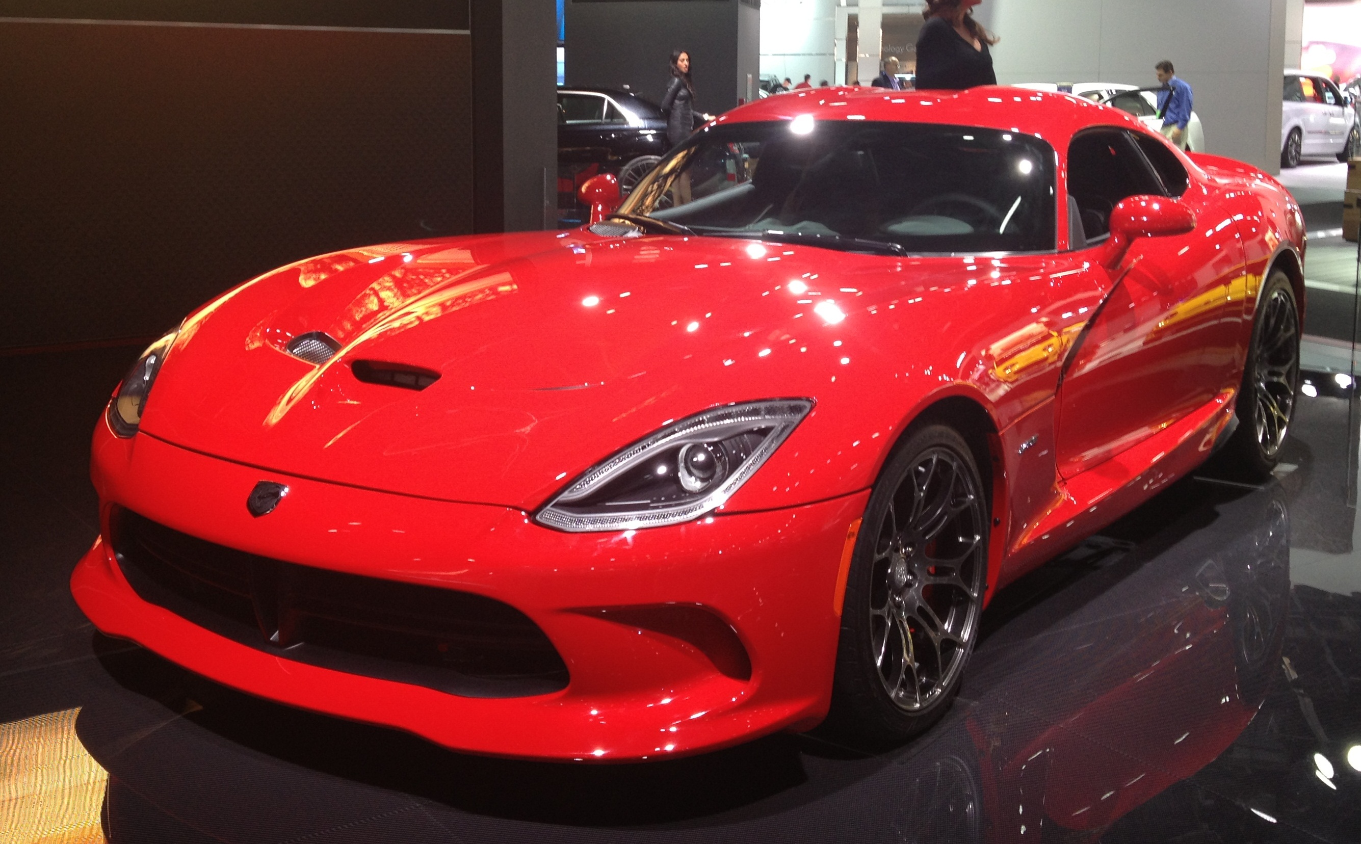 File Red Srt Viper Gts At Naias 2017 01 Jpg