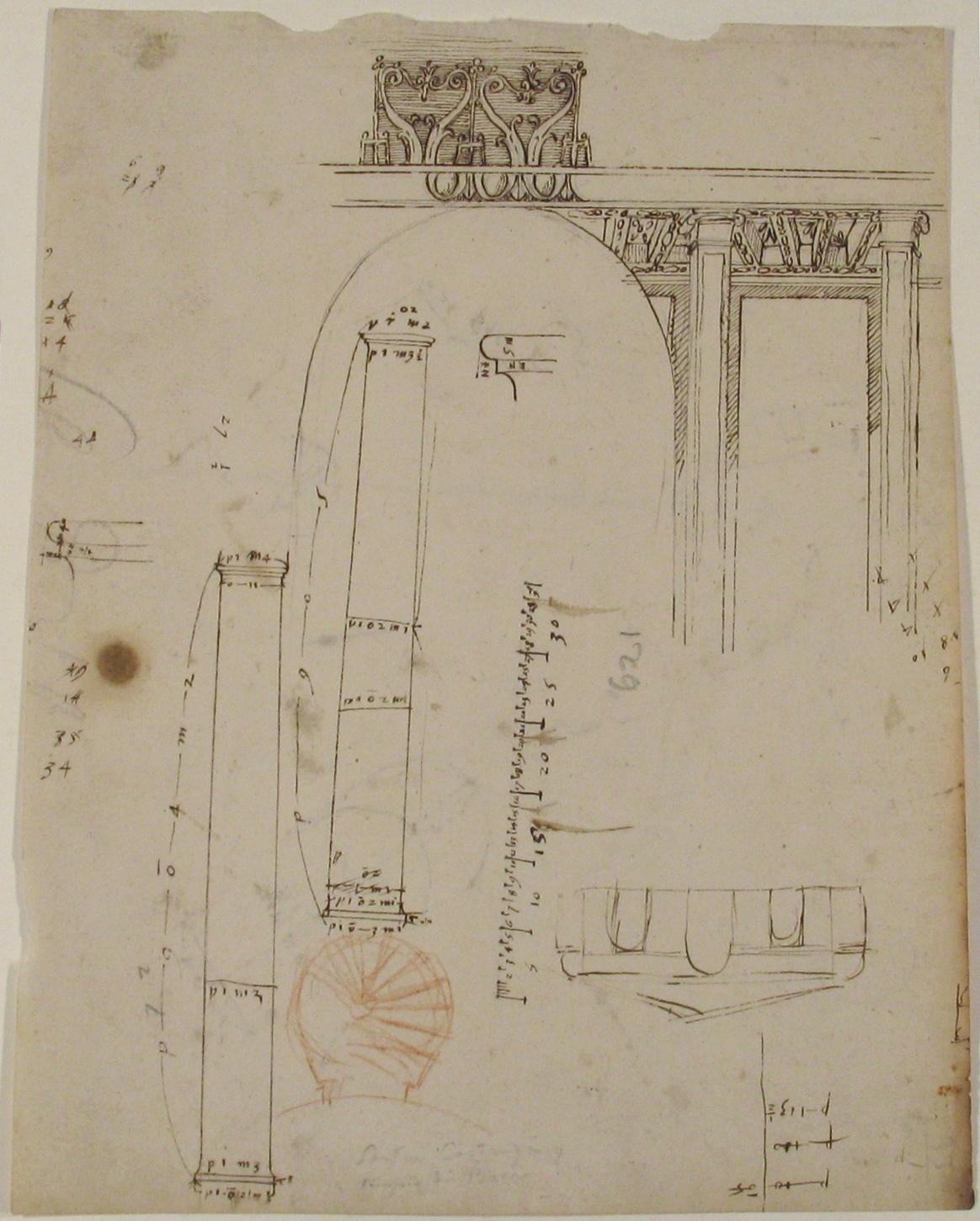 File:S  Costanza, drum, interior, elevation