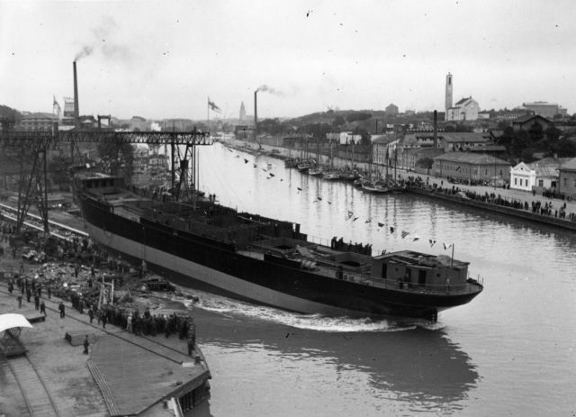 SS Rigel I, launch at Crichton-Vulcan