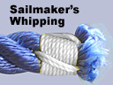 Sailmaker's whipping