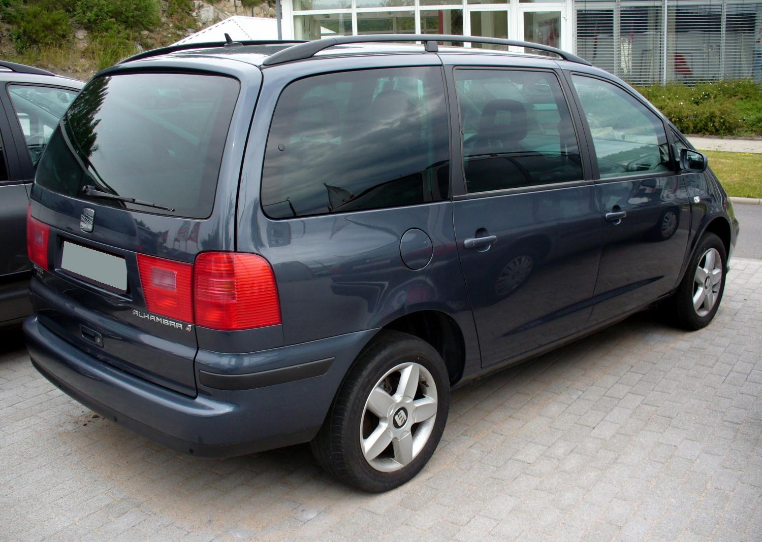file seat alhambra 4 facelift heck jpg wikimedia commons. Black Bedroom Furniture Sets. Home Design Ideas