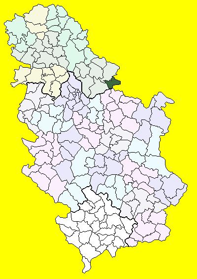 beograd bela crkva mapa Bela Crkva (općina) – Wikipedija beograd bela crkva mapa