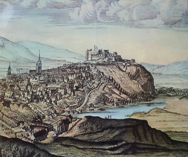 File:Slezer Castle & Nor Loch c.1690.