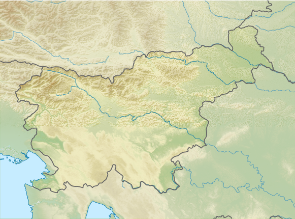 Файл:Slovenia relief map.png