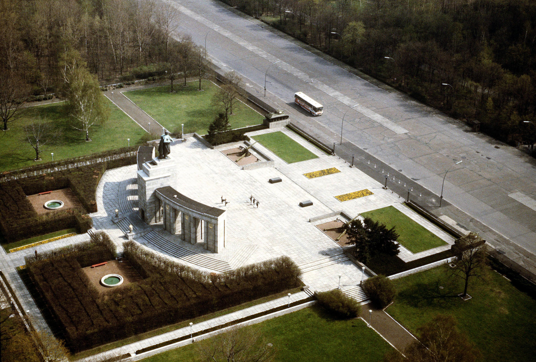 Memorial del Tiergarten desde el aire