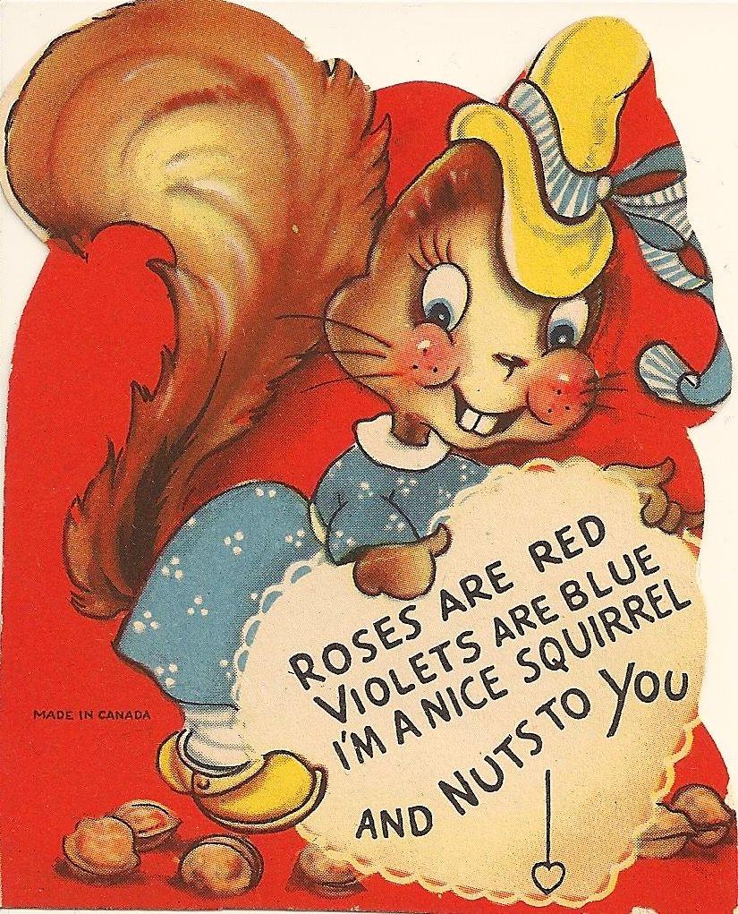 Valentine Day Dog Love Funny Card